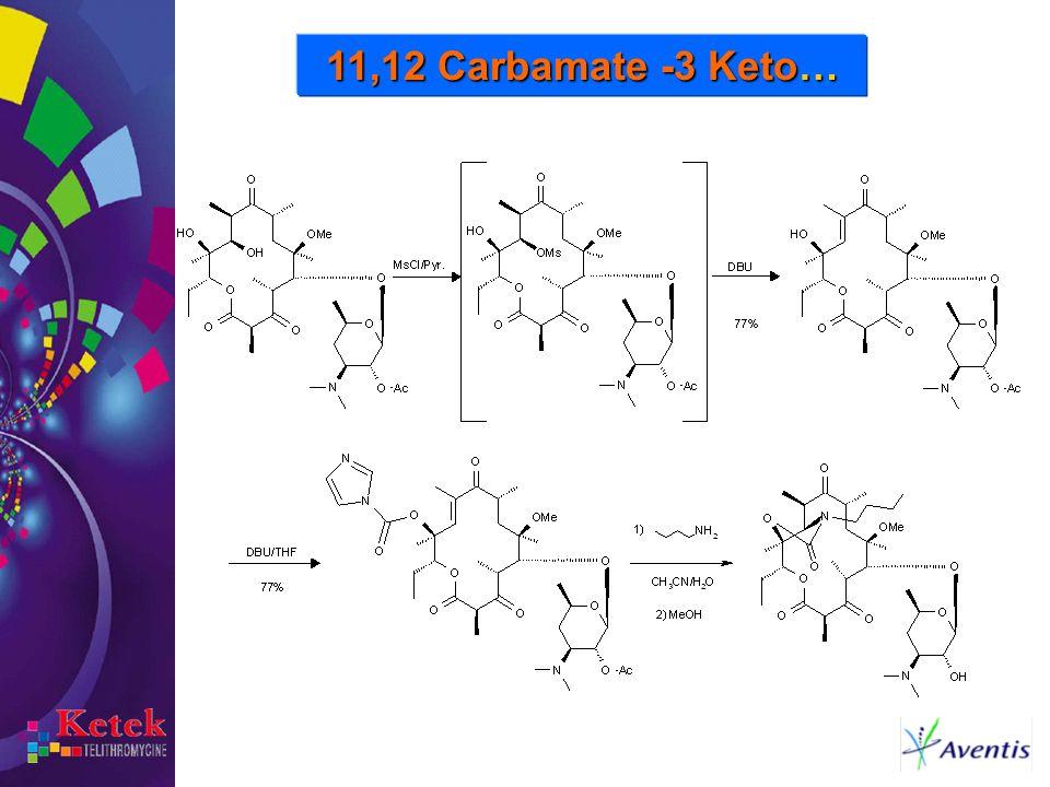 11,12 Carbamate -3 Keto…