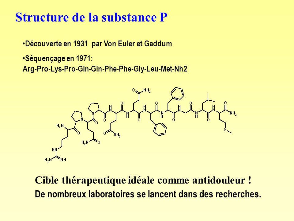 Structure de la substance P