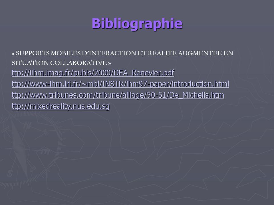 Bibliographie ttp://iihm.imag.fr/publs/2000/DEA_Renevier.pdf