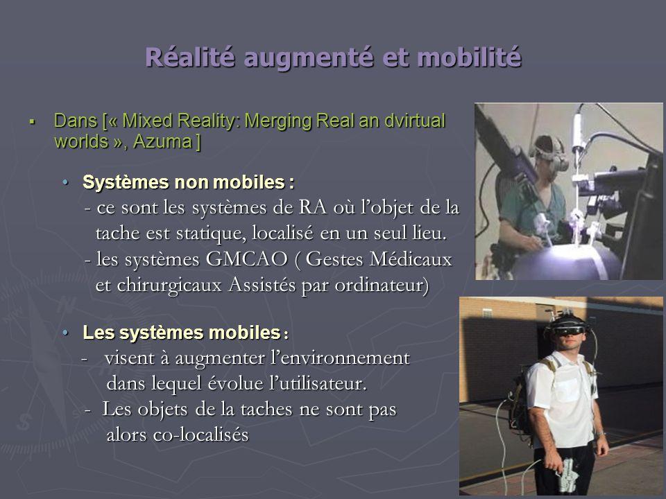 Réalité augmenté et mobilité