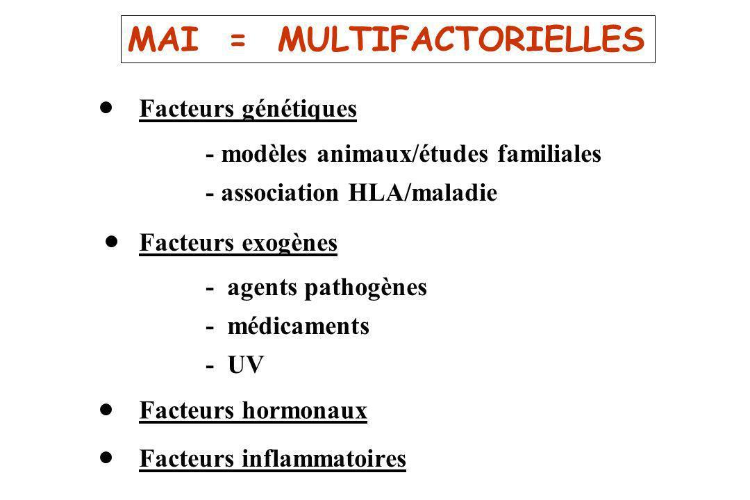 MAI = MULTIFACTORIELLES