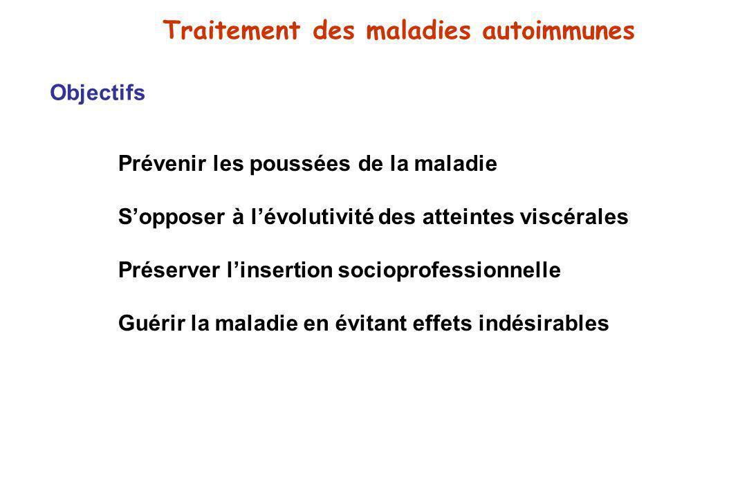Traitement des maladies autoimmunes
