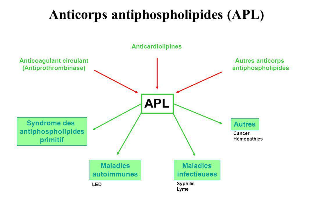Anticoagulant circulant (Antiprothrombinase)