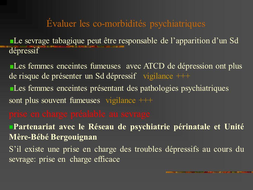 Évaluer les co-morbidités psychiatriques
