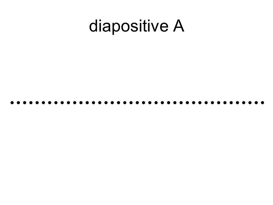 diapositive A