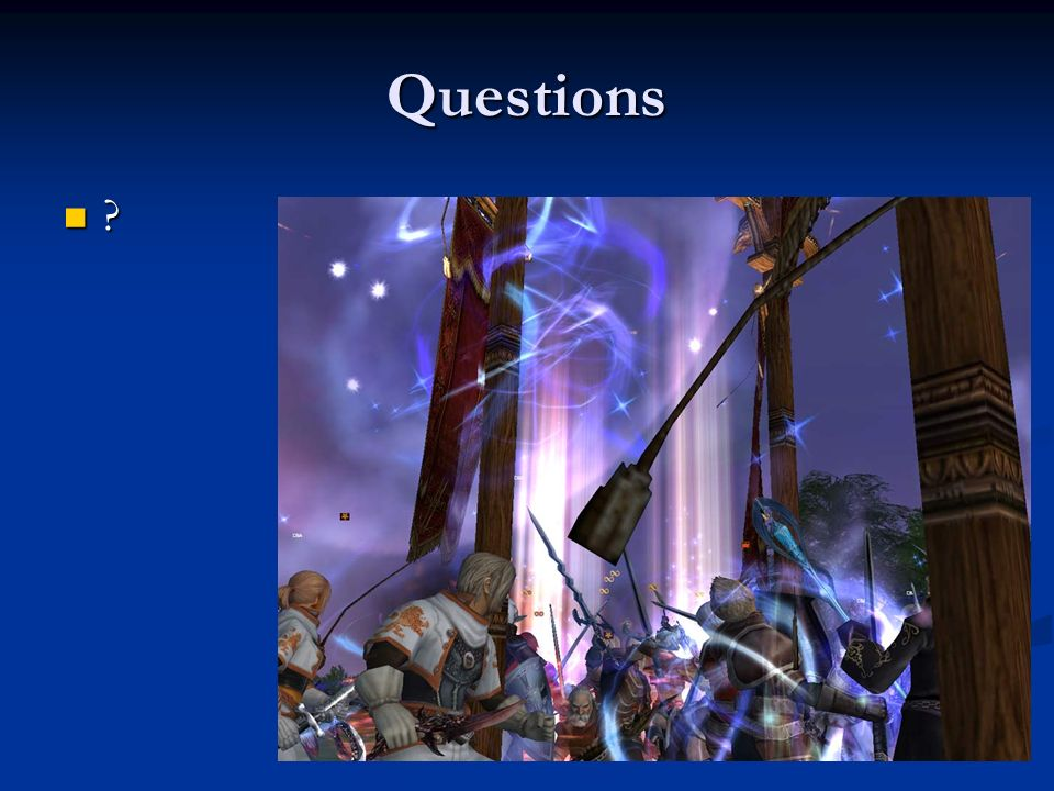 Questions C est en 1997, avec la sortie de Ultima Online (1997, ©Origins), puis en 1999, avec Everquest.