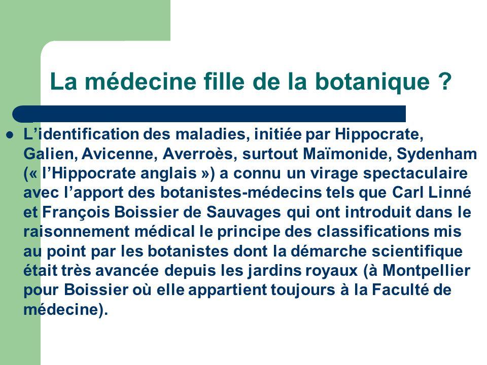 La médecine fille de la botanique
