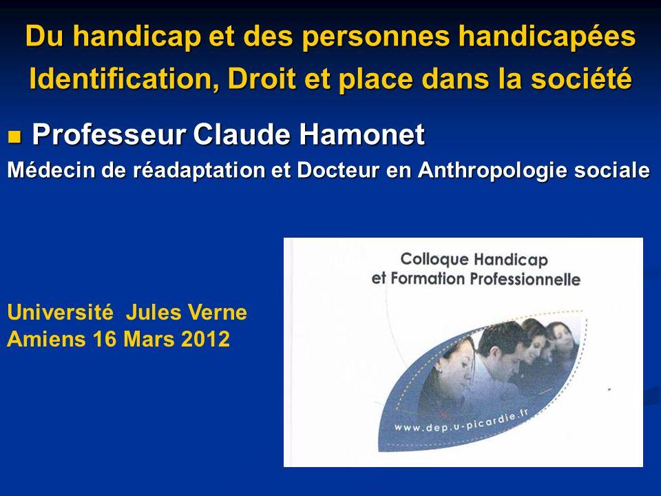 Professeur Claude Hamonet