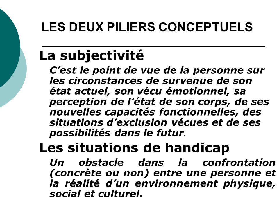 LES DEUX PILIERS CONCEPTUELS
