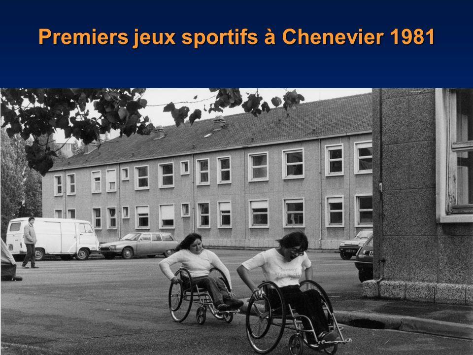 Premiers jeux sportifs à Chenevier 1981