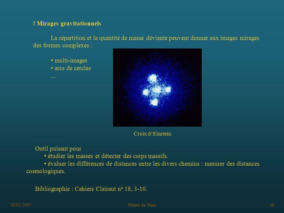 ! Mirages gravitationnels