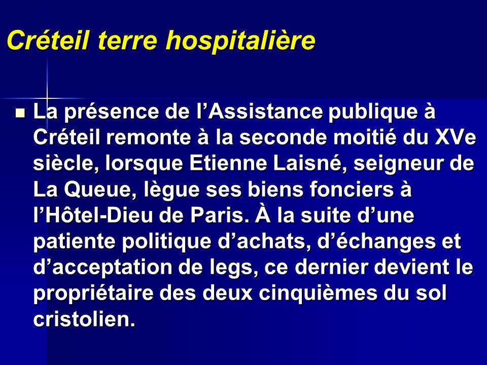 Créteil terre hospitalière