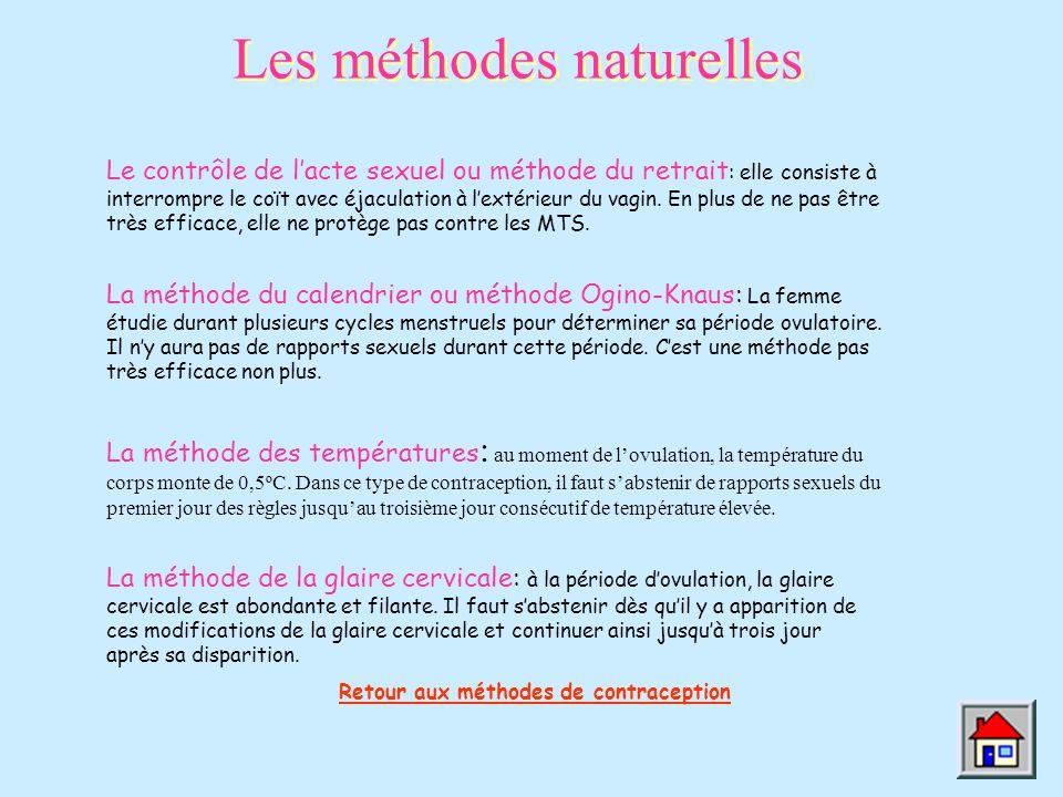 Les méthodes naturelles