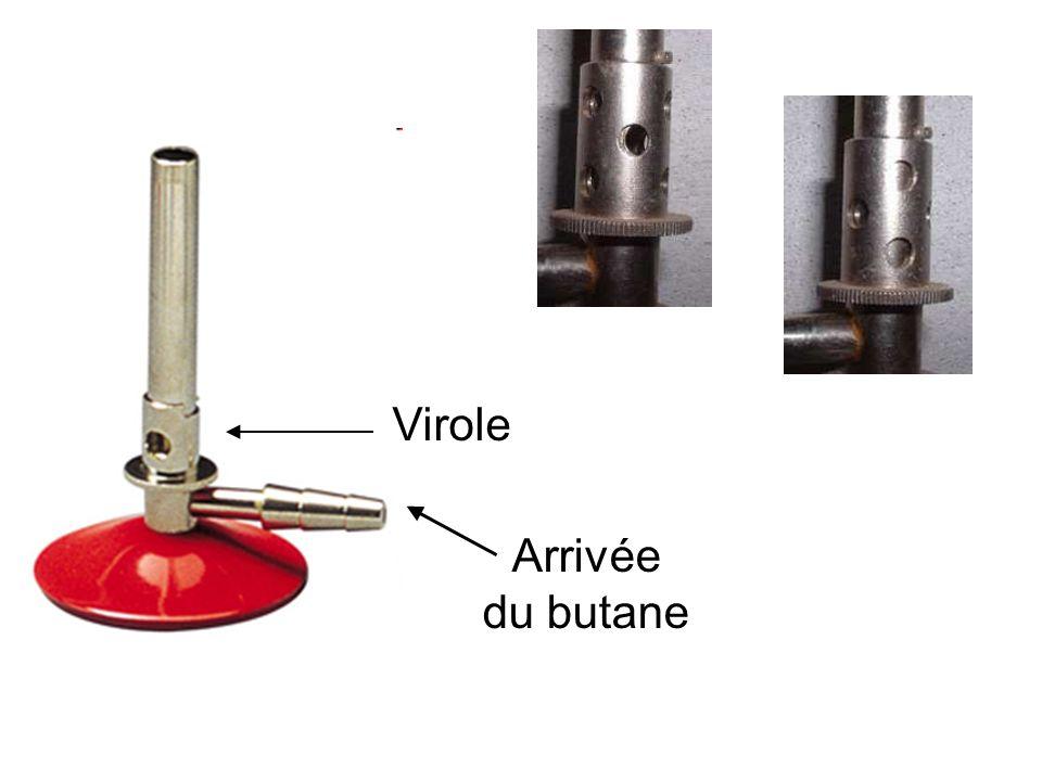 Virole Arrivée du butane