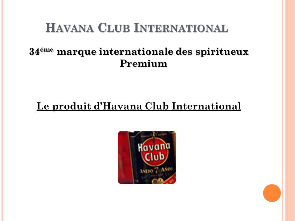 Havana Club International