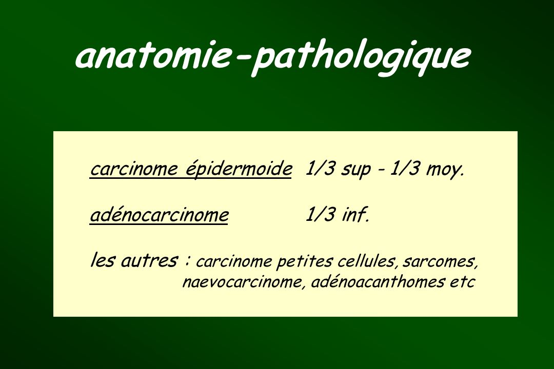 anatomie-pathologique