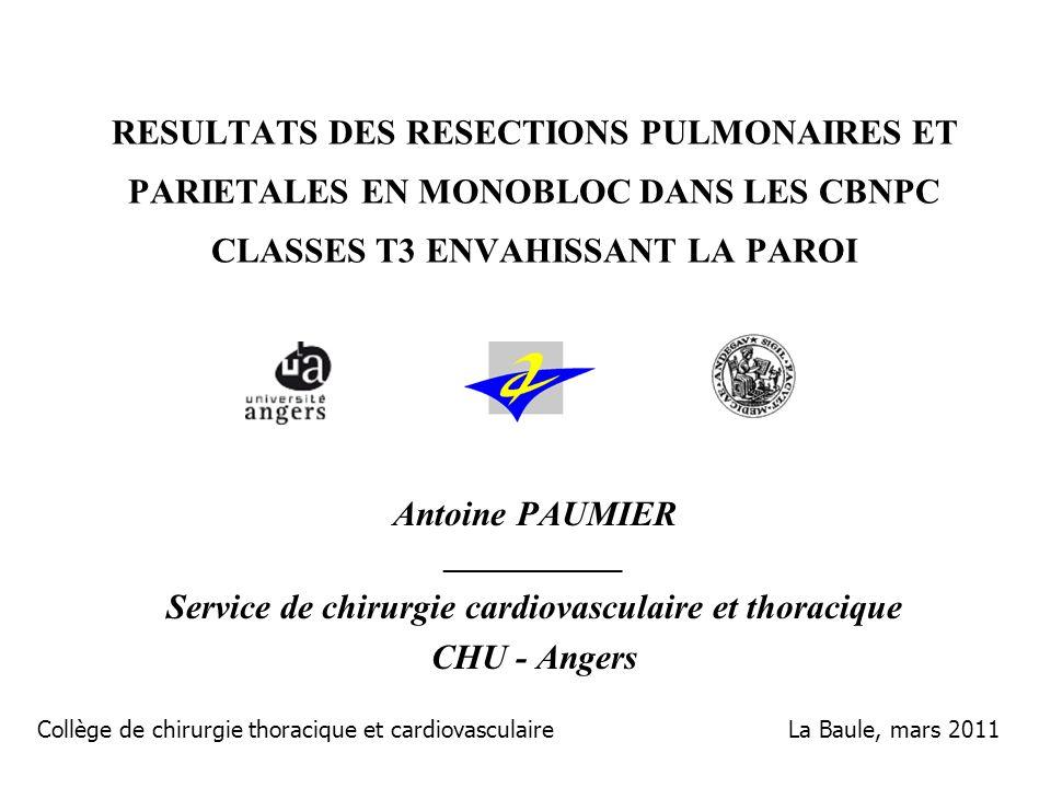 Service de chirurgie cardiovasculaire et thoracique