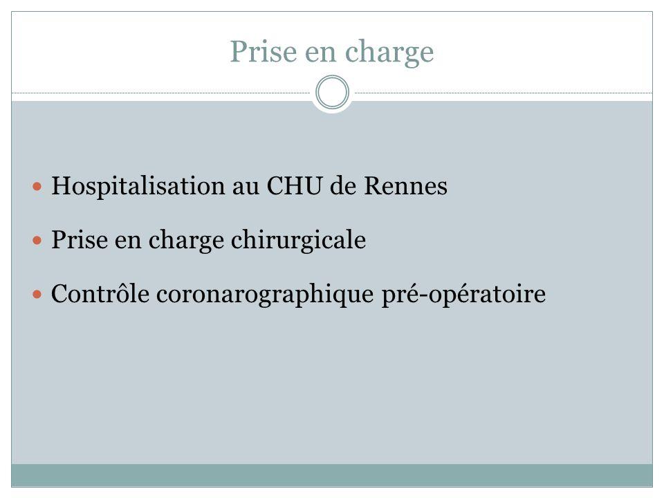 Prise en charge Hospitalisation au CHU de Rennes