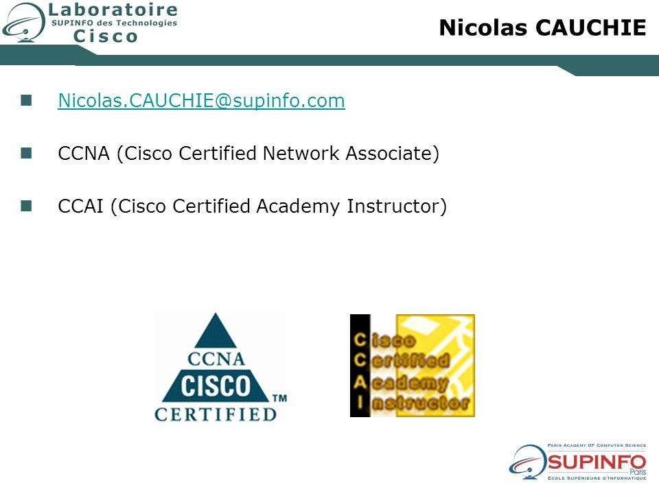 Nicolas CAUCHIE Nicolas.CAUCHIE@supinfo.com