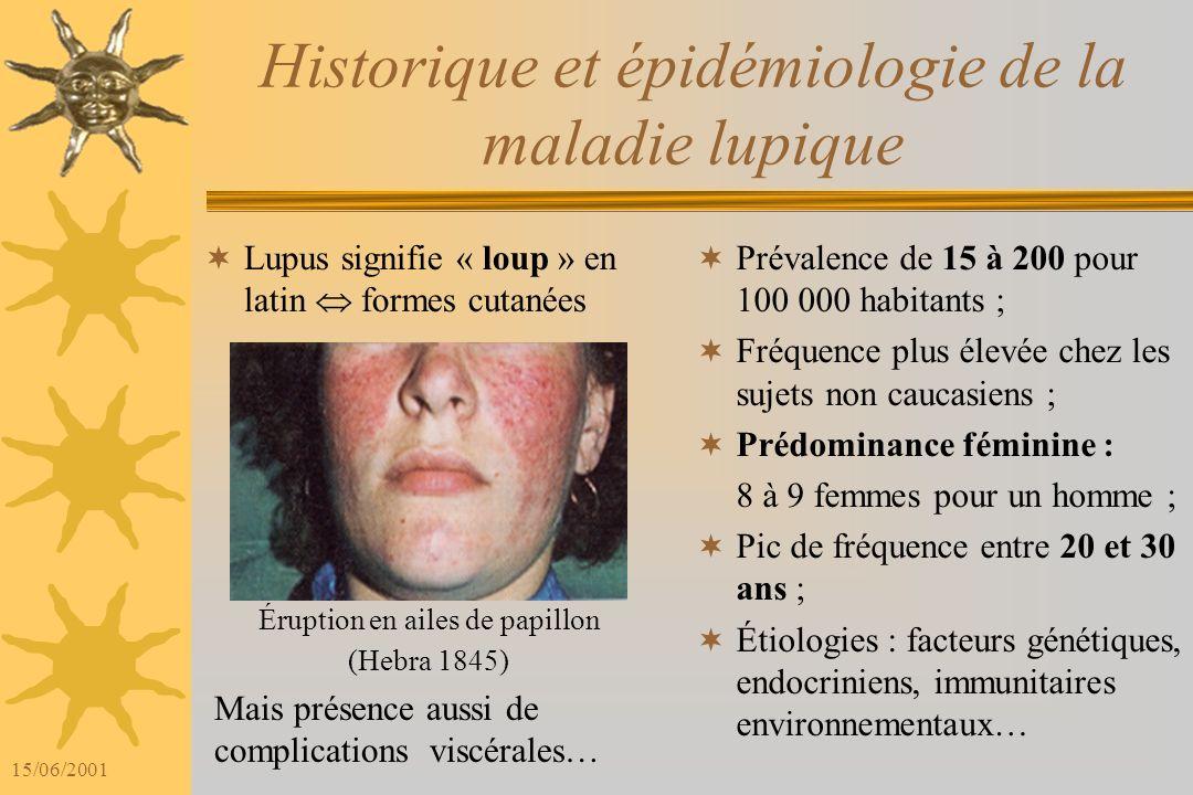 Historique et épidémiologie de la maladie lupique