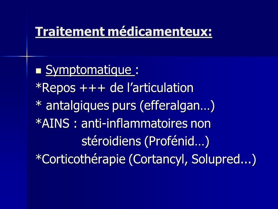 Traitement médicamenteux: