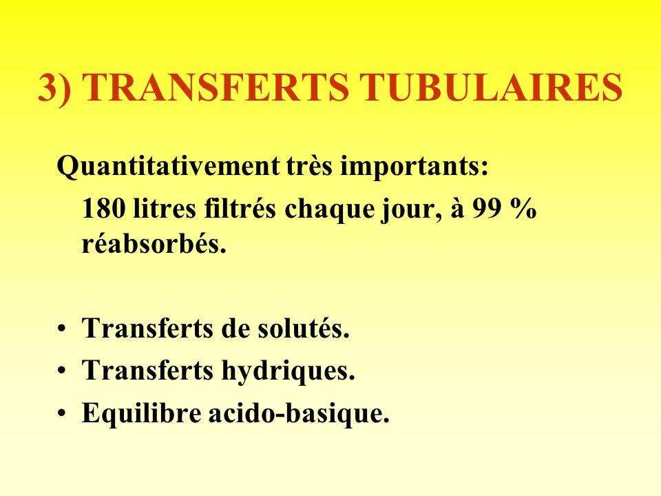 3) TRANSFERTS TUBULAIRES