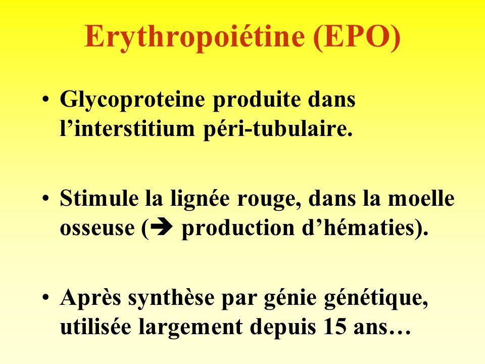 Erythropoiétine (EPO)