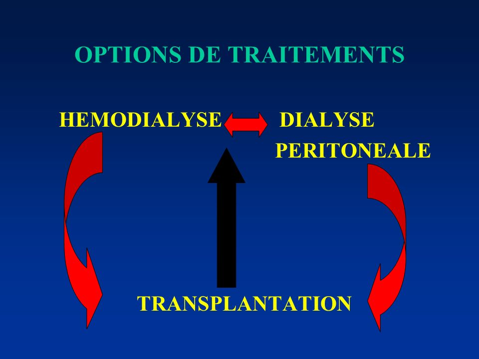 OPTIONS DE TRAITEMENTS