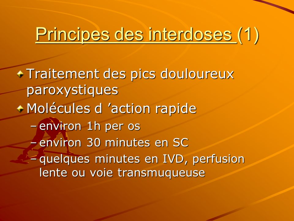 Principes des interdoses (1)