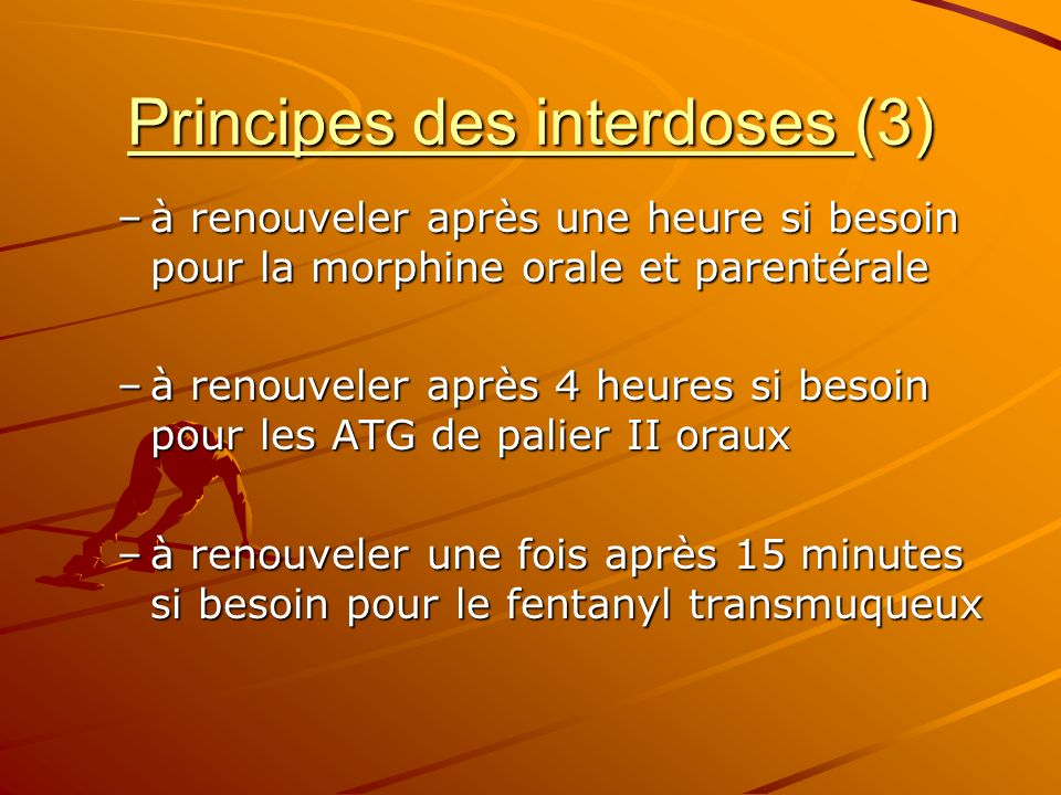 Principes des interdoses (3)