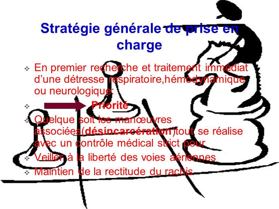 Stratégie générale de prise en charge