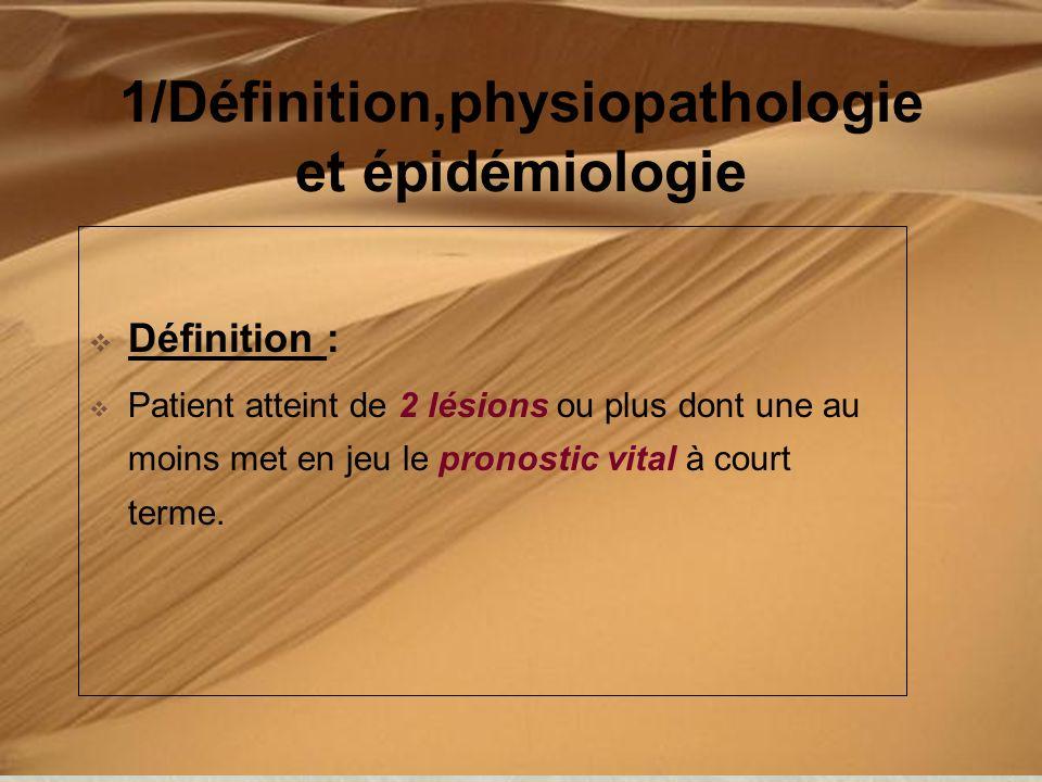 1/Définition,physiopathologie et épidémiologie