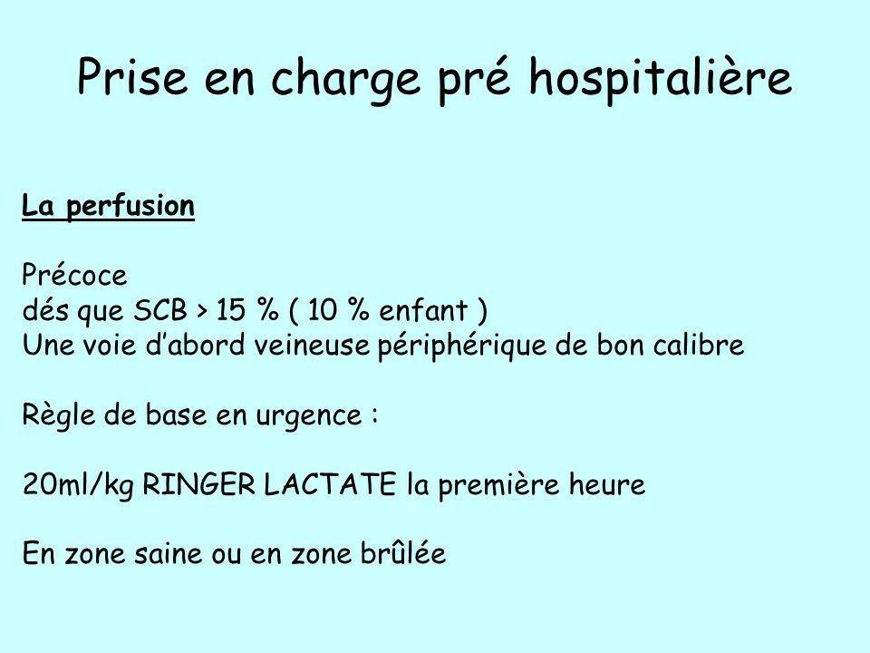 Prise en charge pré hospitalière