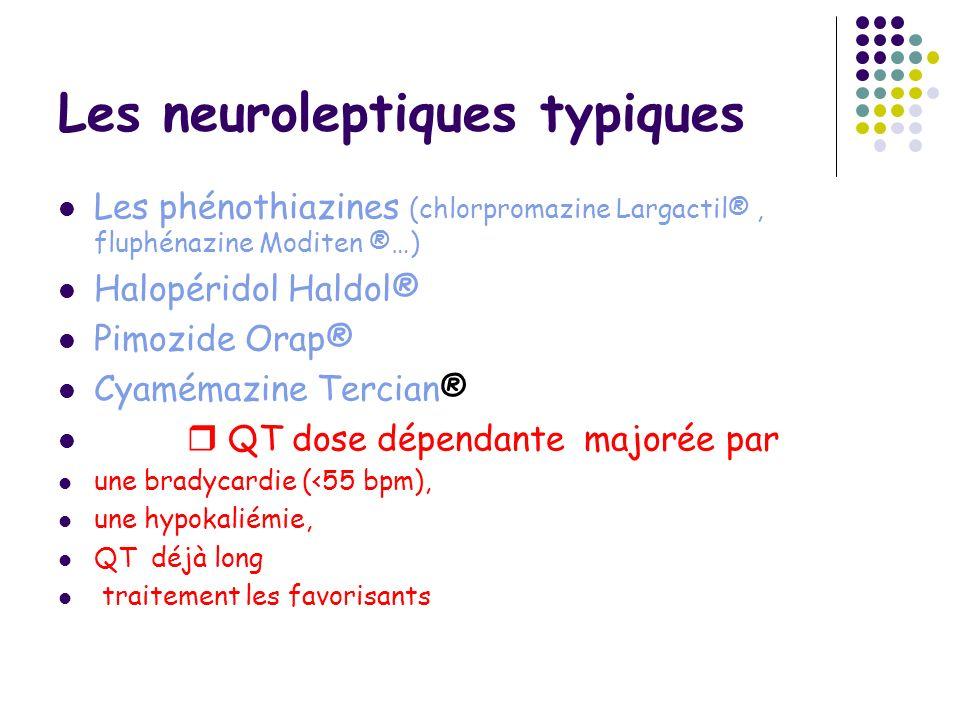 Les neuroleptiques typiques