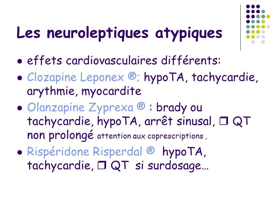 Les neuroleptiques atypiques