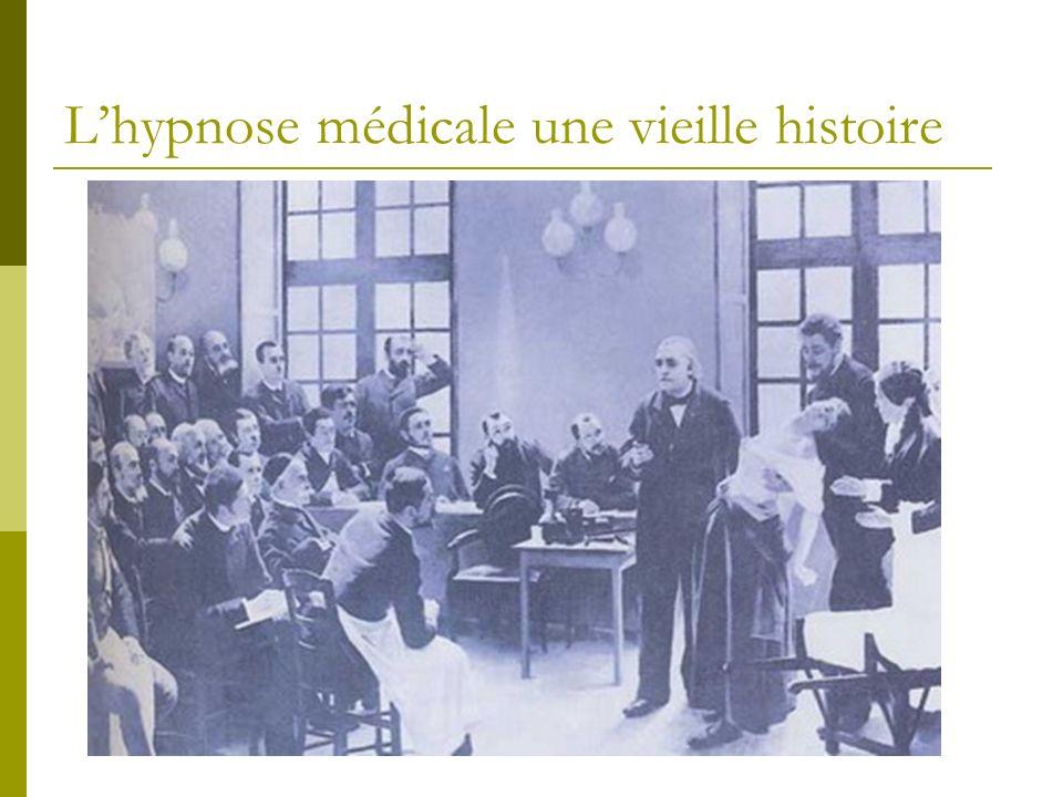 L'hypnose médicale une vieille histoire