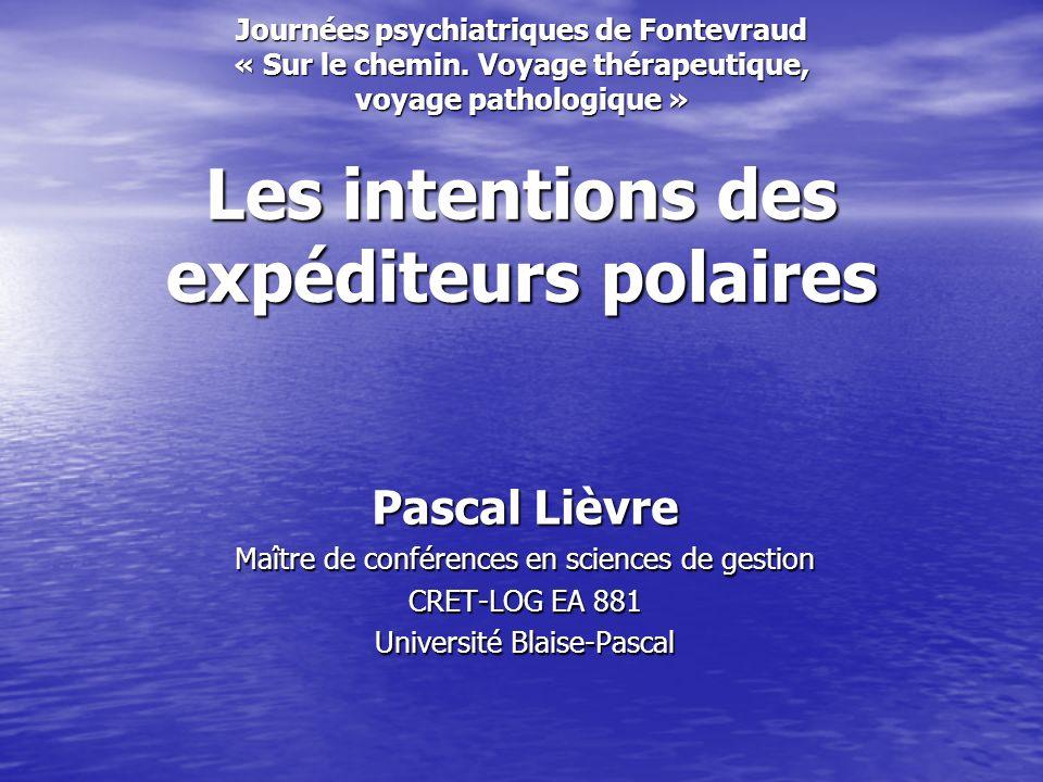 Journées psychiatriques de Fontevraud « Sur le chemin