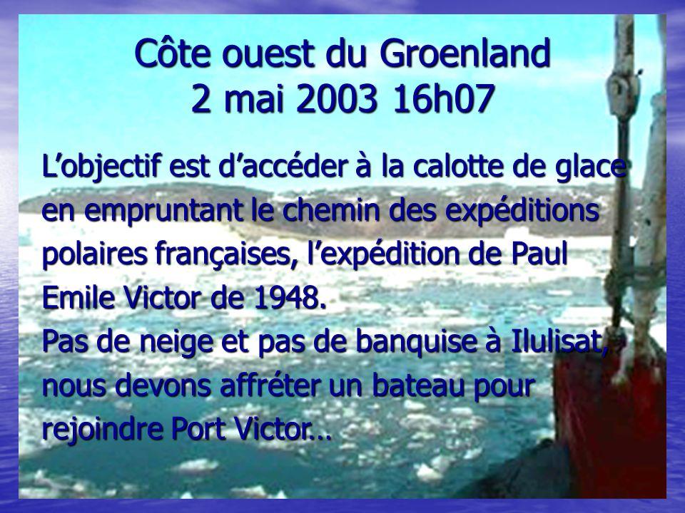 Côte ouest du Groenland 2 mai 2003 16h07