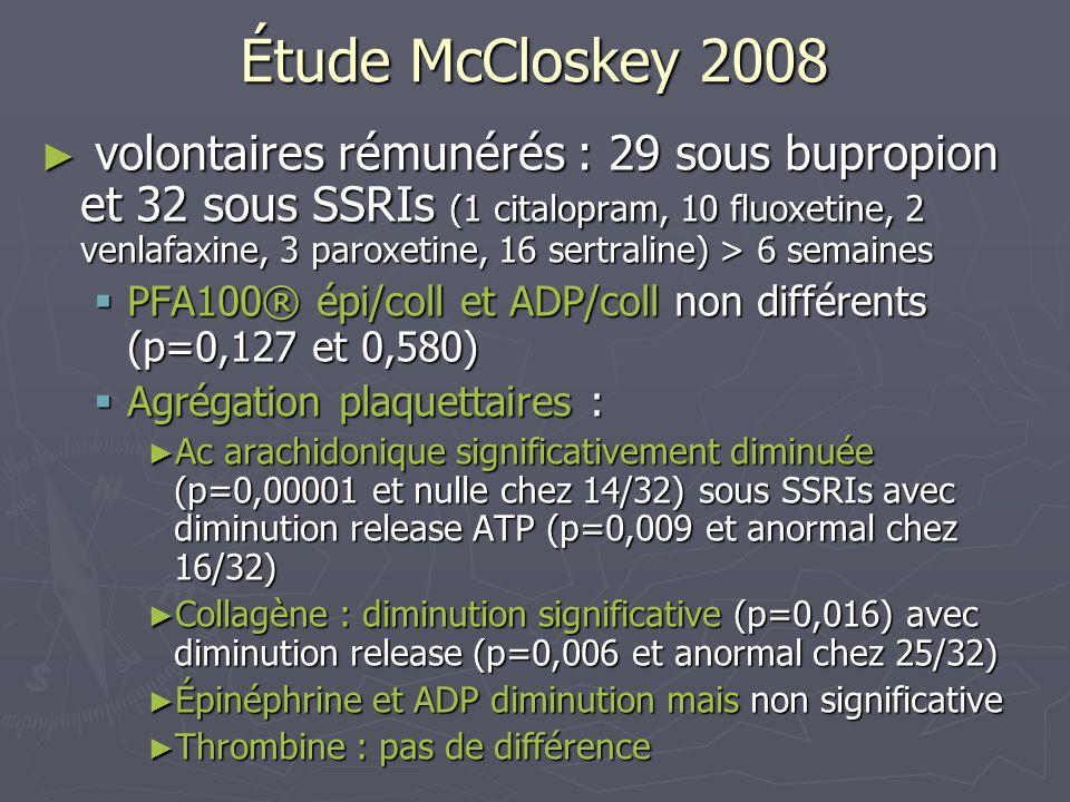 Étude McCloskey 2008