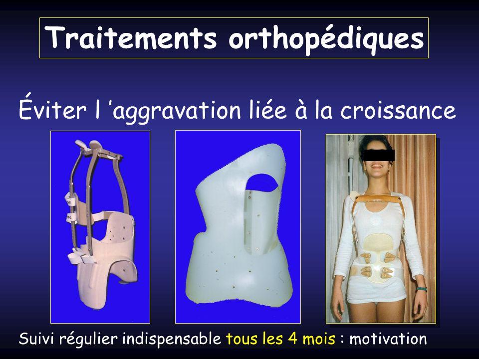 Traitements orthopédiques