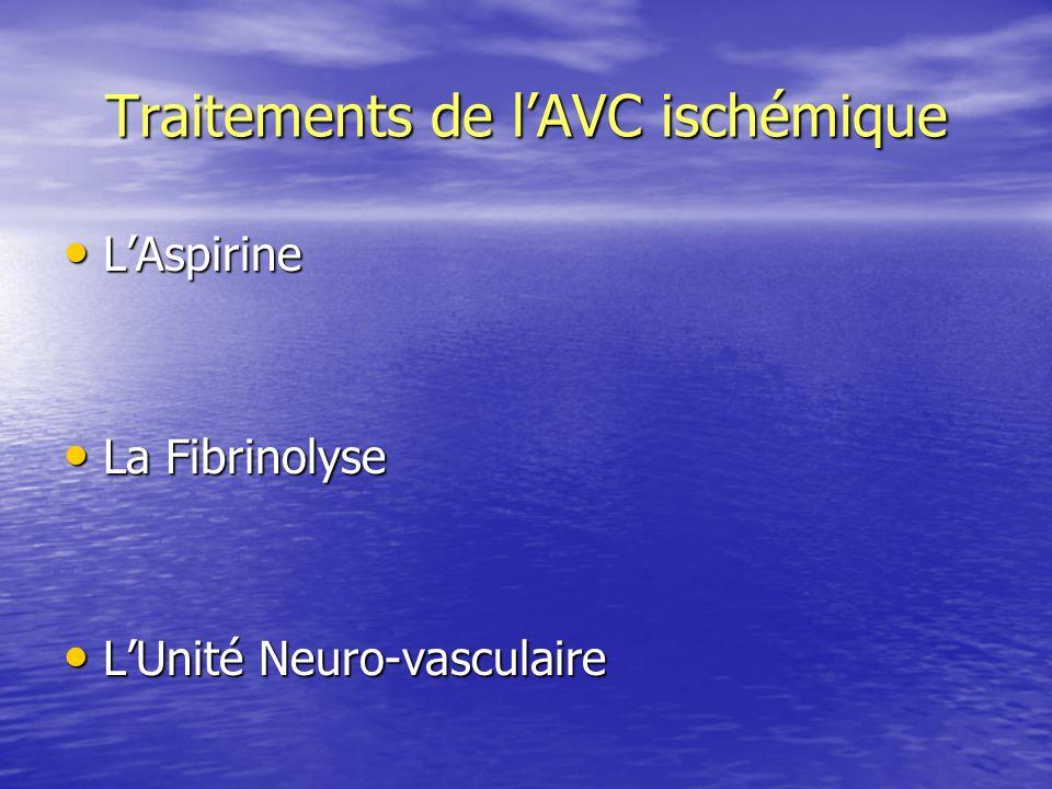 Traitements de l'AVC ischémique