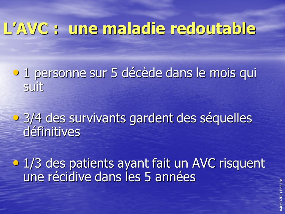 L'AVC : une maladie redoutable
