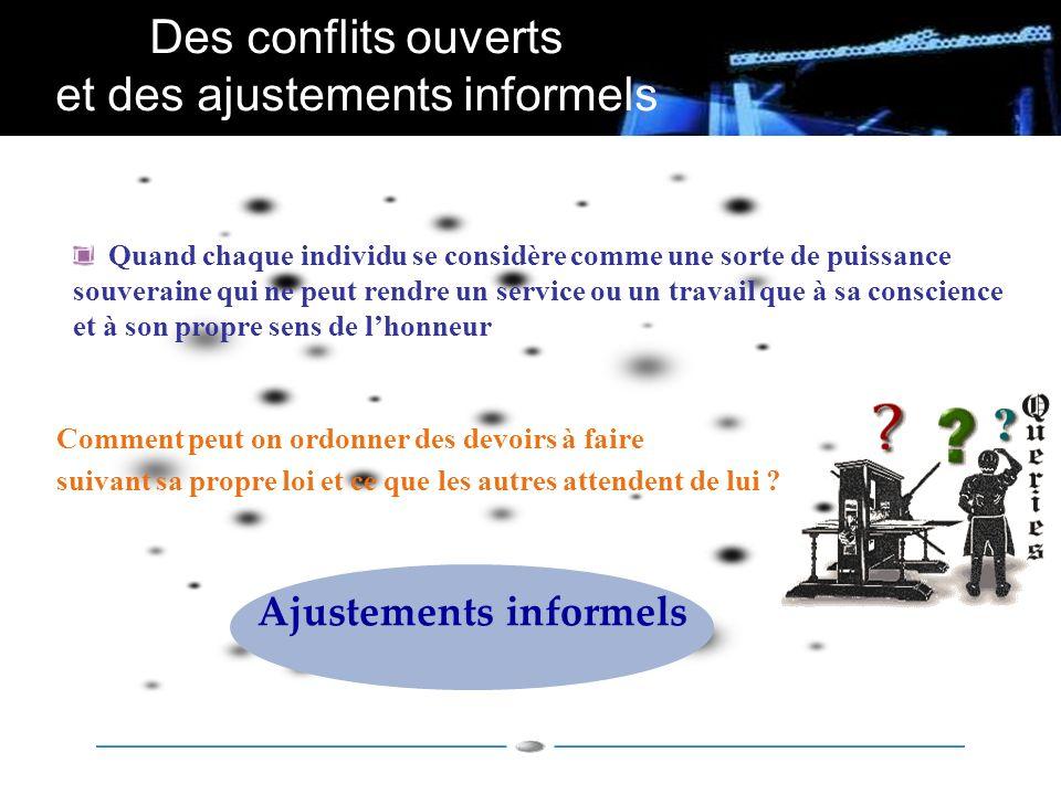 Ajustements informels