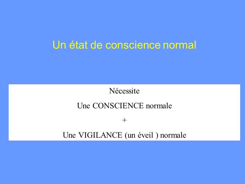 Un état de conscience normal