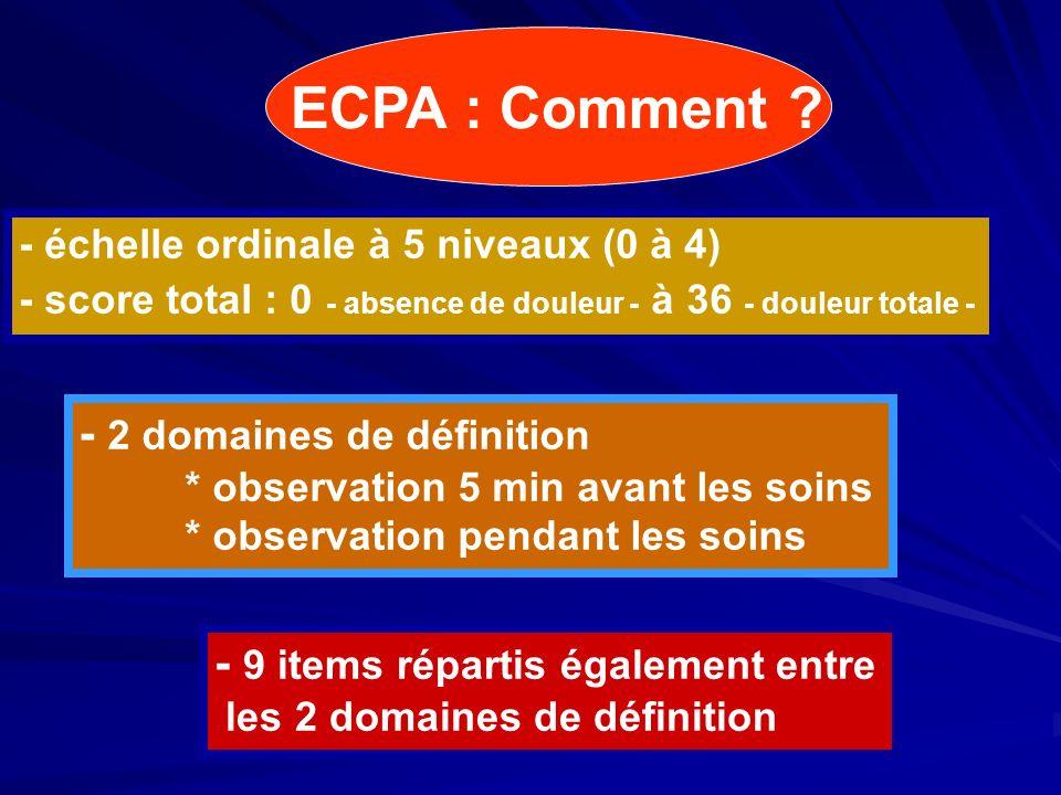 ECPA : Comment - 2 domaines de définition