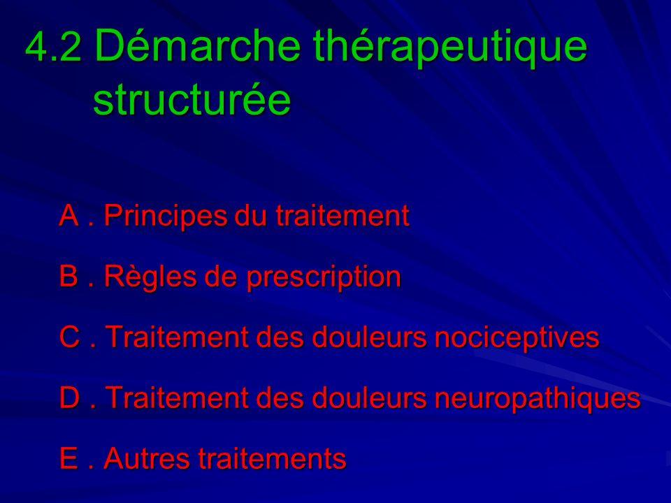 4.2 Démarche thérapeutique structurée