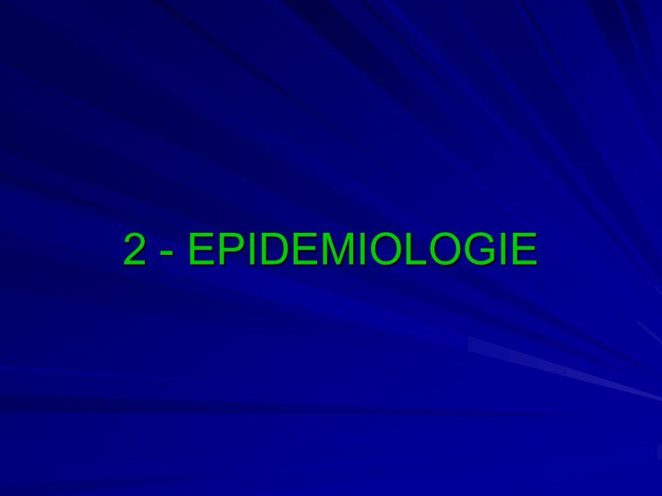 2 - EPIDEMIOLOGIE