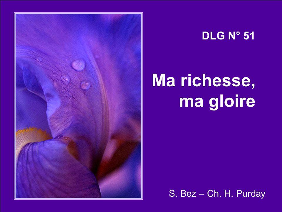 DLG N° 51 Ma richesse, ma gloire