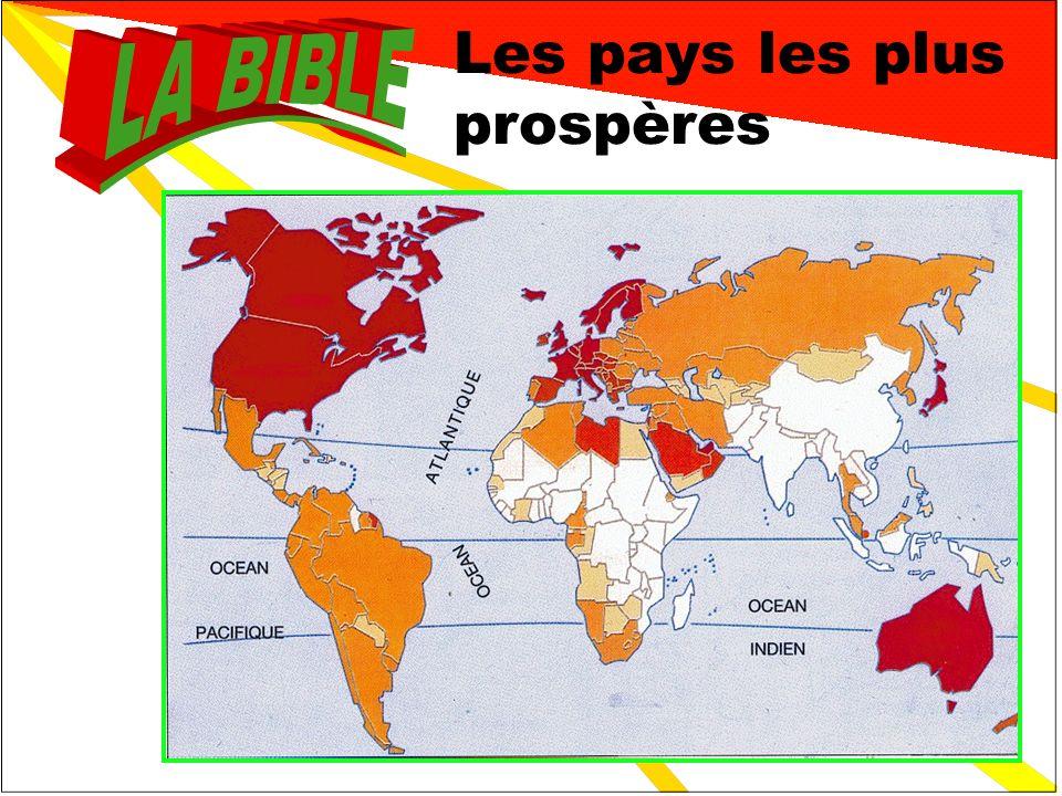 Les pays les plus prospères