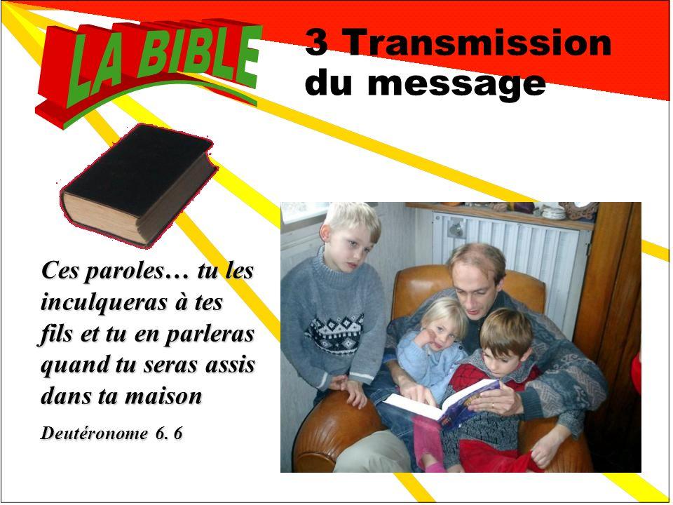 3 Transmission du message